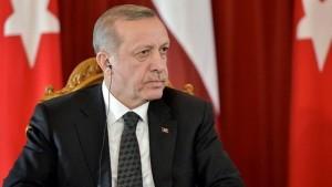 الرئيس التركي  الضربات العسكرية ضد داعش خطوة أولى لحماية أمن تركيا