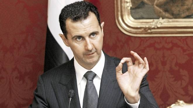 الرئيس السوري  وقف الحرب أولوية وتعامل الغرب مع الإرهاب مازال يتسم بالنفاق