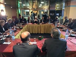 ليون يواصل مشاوراته بالجزائر مع ممثلي المؤتمر الوطني العام