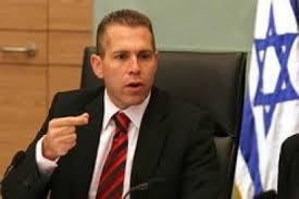 وزير الأمن الداخلي  جلعاد أردان
