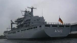 البحرية الألمانية تنقذ 103 مهاجرين قبالة السواحل الليبية