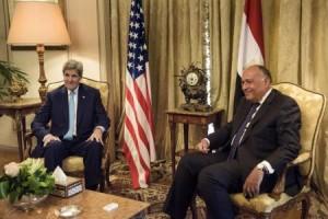 كيري: نبحث سبل تقديم مزيد من الدعم لخطة الأمم المتحدة في ليبي