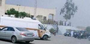 الداخلية السعودية  مقتل 13 شخصا بينهم 10 من قوات الطوارئ بتفجير مسجد في منطقة عسير