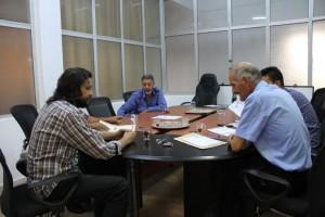 لجنة اعمار صبراتة تناقش آلية حصر المحلات التجارية بالبلدية