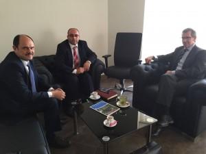 ليون يبحث مع بلدي مصراته أخر تطورات جلسات الحوار الليبي