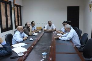 رئيس مجلس إدارة الجهاز التنفيذي للطاقات المتجددة يزور بلدية زليتن