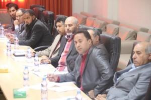 بلدي صبراتة ينظم ورشة عمل حول التعاون بين القطاعات والمجلس البلدي