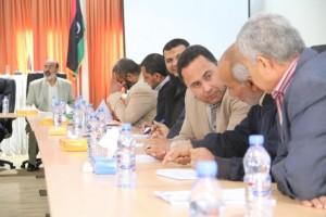 بلدي صبراتة ينظم ورشة عمل حول التعاون بين القطاعات والمجلس البلدي6