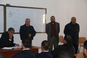 عميد بلدية صبراتة يتابع سير عمل معهد تدريب الشرطة بصبراتة