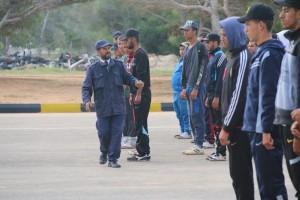 عميد بلدية صبراتة يتابع سير عمل معهد تدريب الشرطة بصبراتة1