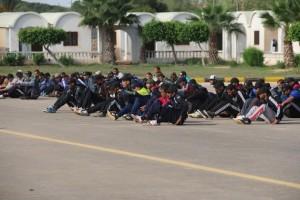 عميد بلدية صبراتة يتابع سير عمل معهد تدريب الشرطة بصبراتة3