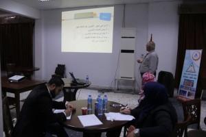 لجنة التدريب بالمجلس البلدي صبراتة تنظم دورات تدريبية لموظفي المجلس11