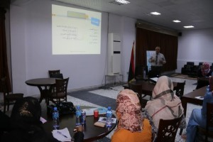 لجنة التدريب بالمجلس البلدي صبراتة تنظم دورات تدريبية لموظفي المجلس2