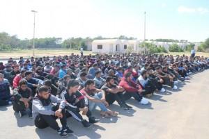 مديرية الأمن الوطني بصبراتة تبدأ دورة تدريبية لعدد 400 متدرب في جهاز الشرطة .