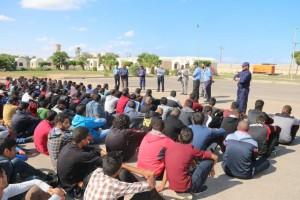 مديرية الأمن الوطني بصبراتة تبدأ دورة تدريبية لعدد 400 متدرب في جهاز الشرطة 1