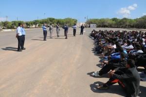 مديرية الأمن الوطني بصبراتة تبدأ دورة تدريبية لعدد 400 متدرب في جهاز الشرطة2