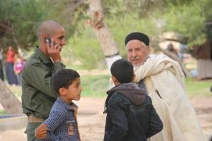 معهد تدريب الشرطة بصبراتة يشهد أول زيارة لأهالي الطلبة 2