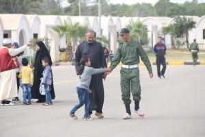 معهد تدريب الشرطة بصبراتة يشهد أول زيارة لأهالي الطلبة 4