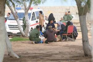 معهد تدريب الشرطة بصبراتة يشهد أول زيارة لأهالي الطلبة 5