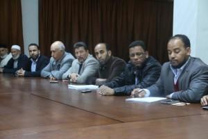 نشطاء من الكفرة يقدمون ندوة حول حقيقة الصراع القائم بالمدينة في صبراتة1