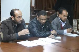 نشطاء من الكفرة يقدمون ندوة حول حقيقة الصراع القائم بالمدينة في صبراتة6