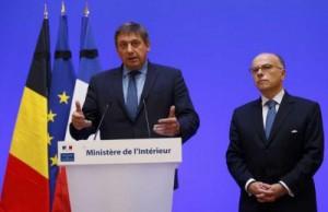 وزيرا الداخلية الفرنسي والبلجيكي يتعهدان بالعمل معا لمكافحة الارهاب