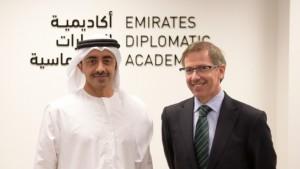 تعين برناردينو ليون مديراً عاماً لأكاديمية الإمارات الدبلوماسية