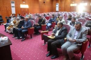أعضاء تأسيسية الدستور عن المنطقة الغربية يلتقون بأهالي المنطقة 1