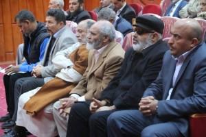 أعضاء تأسيسية الدستور عن المنطقة الغربية يلتقون بأهالي المنطقة 2