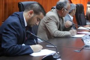 أعضاء تأسيسية الدستور عن المنطقة الغربية يلتقون بأهالي المنطقة 3
