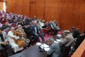 أعضاء تأسيسية الدستور عن المنطقة الغربية يلتقون بأهالي المنطقة