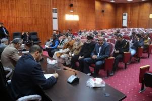 أعضاء تأسيسية الدستور عن المنطقة الغربية يلتقون بأهالي المنطقة 4
