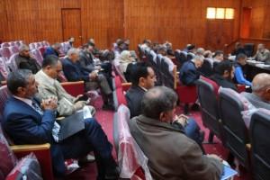 أعضاء تأسيسية الدستور عن المنطقة الغربية يلتقون بأهالي المنطقة 5