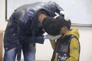اختتام حملة التحصينات المدرسية والكشف الطبي العام في مدارس صبراتة