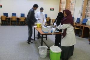 اختتام حملة التحصينات المدرسية والكشف الطبي العام في مدارس صبراتة1