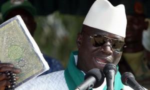الرئيس الغامبي يعلن بلاده جمهورية إسلامية