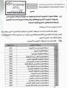 السعودية تمنح تصاريح لشركات الطيران الليبية لتسيير رحلات العمرة