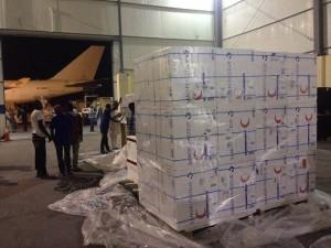 وصول شحنة كبيرة من أدوية الأورام و التطعيمات الى طرابلس