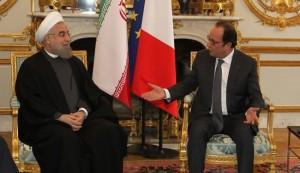الرئيس الفرنسي: تعزيز التعاون مع ايران يسهم في إحلال الامن بالمنطقة
