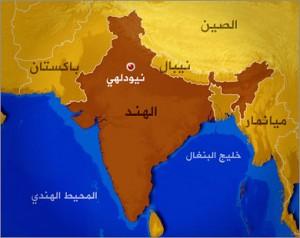 انفجار ضخم يهز قاعدة جوية في الهند
