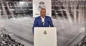 زين الدين زيدان رسميا مديراً فنياً لريال مدريد