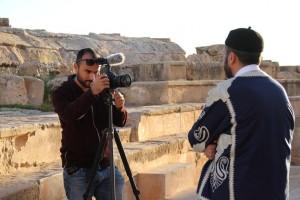 وفد إعلامي أجنبي يزور بلدية صبراتة 01