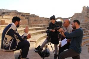 7وفد إعلامي أجنبي يزور بلدية صبراتة