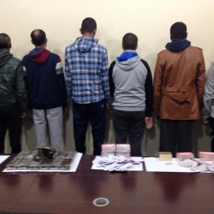 القبض على 13 شخصا من مروجي المخدرات0