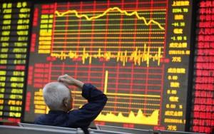 انخفاض الأسهم الصينية بنهاية جلسة اليوم