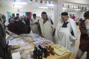 بازار خيري بمدينة يفرن0