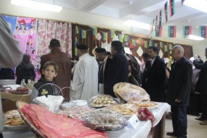 بازار خيري بمدينة يفرن1
