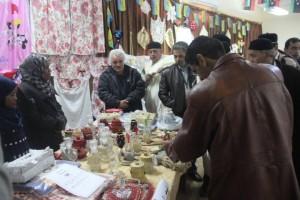 بازار خيري بمدينة يفرن2
