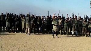 انسحاب مسلحي تنظيم داعش من مدينة الرطبة العراقية
