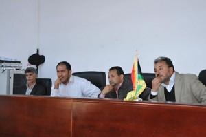 بلدي غريان يبحث المشاكل التي تواجه الزراعة ومنظومة النهر الصناعي بالمدينة